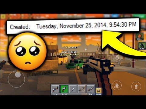 I Found An Old Pixel Gun 3D Video That I Never Uploaded... (Nostalgia Warning)