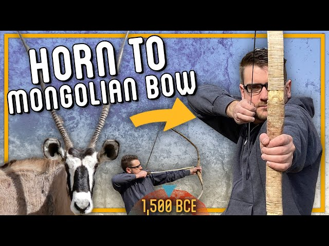 Crafting the Ultimate Mongolian Recurve Bow