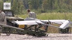 Shadow 200 RQ-7 UAV Launch