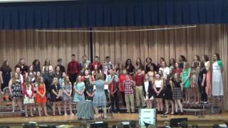 Faircrest Middle School 7th and 8th grade Choir May 11th 2017
