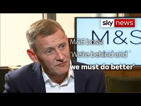 M&S boss: 'We must do better'