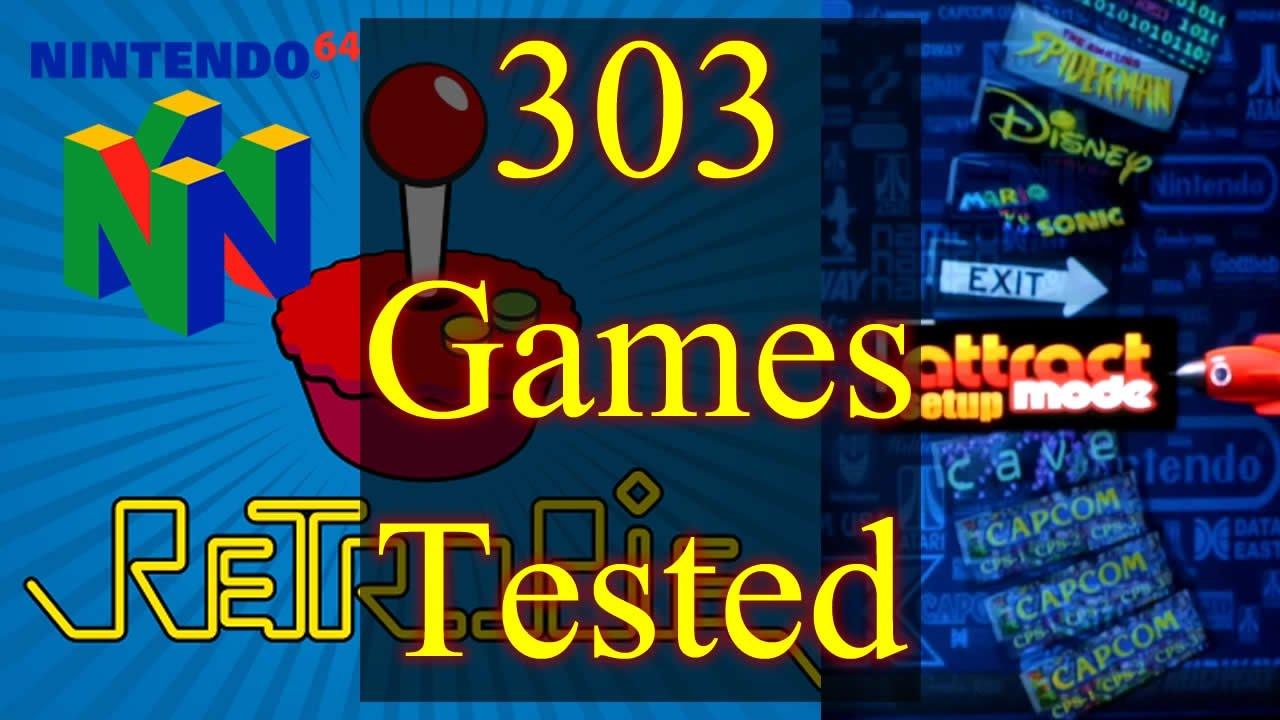 Raspberry Pi 3 Nintendo 64 Emulation - 303 N64 Games Tested