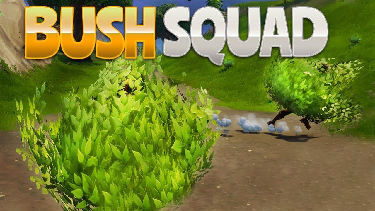 Bush Squad Fortnite Battle Royale Rhinocrunch Youtube