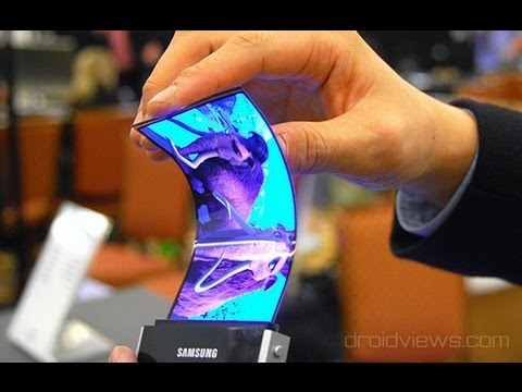 Thumbnail: Samsung Announces Youm Flexible OLED Displays at CES 2013