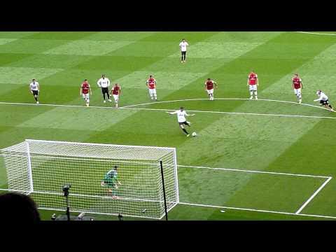 Van Persie penalty against Arsenal 2013.04.28.