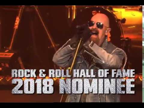 Judas Priest - 2018 Rock & Roll Hall Of Fame Fan Vote