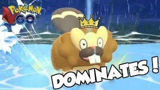 KING BIBAREL DOMINATES THE FEROCIOUS CUP! Pokemon GO PvP Ferocious Cup Great League Matches