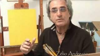 pintando rosto rápido em óleo sobre tela   Zélio Andrezzo  artes plásticas