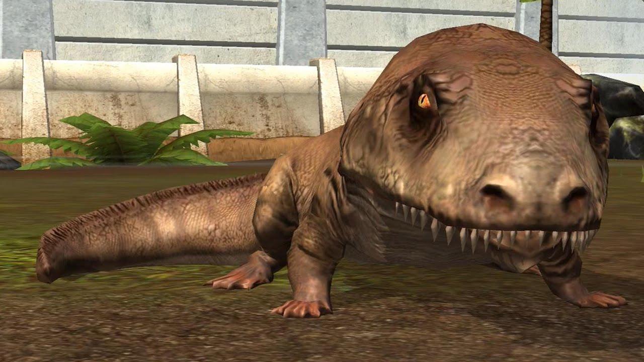 Jurassic World The Game Ichthyostega Youtube