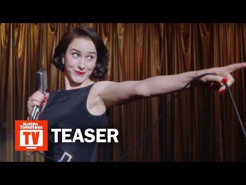 The Marvelous Mrs. Maisel Season 3 Teaser   Rotten Tomatoes TV