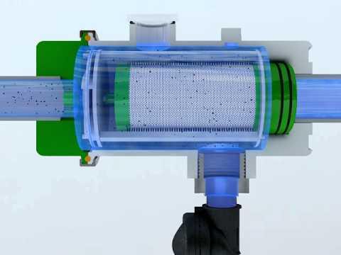 trattamento acque - filtro Creawater ( filtrazione acqua ) ( de filtración de agua ) - YouTube