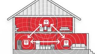 Augmentez votre couverture grâce au Wi-Fi mur à mur