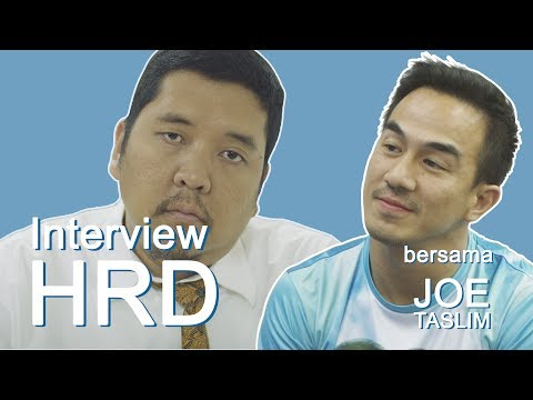 Joe Taslim diinterview HRD