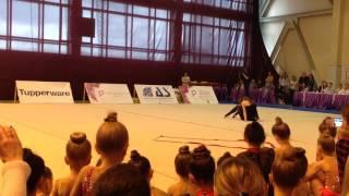 Художественная гимнастика. Показательные выступления