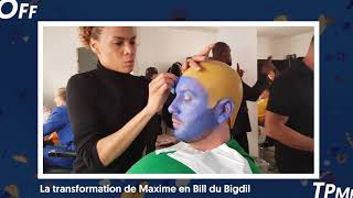 TPMP : La transformation de Maxime Guény en Bill du Bigdil (Exclu Vidéo)