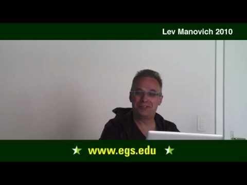 Lev Manovich. Mass Communication, Interface, and New Media Studies 2010. 1/3