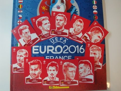 euro 2016 coca cola sticker komplett youtube. Black Bedroom Furniture Sets. Home Design Ideas