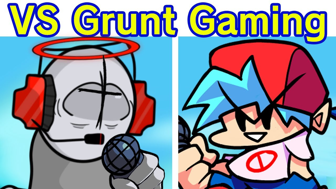 Friday Night Funkin' - VS Grunt Gaming Full Week + Cutscenes (FNF Mod/Hard) (Madness Combat)