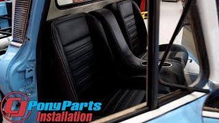 TMI Chevrolet C10 Bucket Seats & Door Panel 1960-1987 Installation