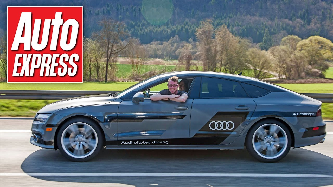 Look No Hands Audi A Drives Itself On Public Roads YouTube - Audi car that drives itself