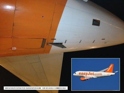 EasyJet airlines voluntary aerosol