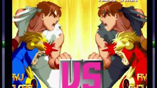 X-Men vs. Street Fighter  (PSX) -Full Game Playthrough- Vizzed.com