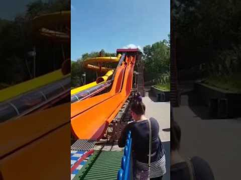 Greenwood Forest Park Solar powered water slides