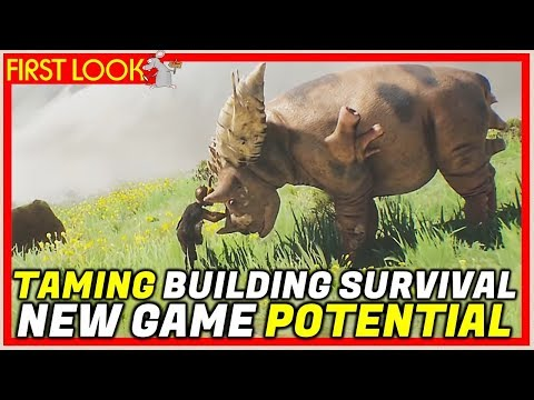 THE NEXT ARK SURVIVAL? Towers A New Prototype Survival Game | Info + Trailer