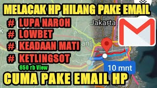 Cara menemukan Lokasi HP yang Hilang di curi orang dengan google chrome..