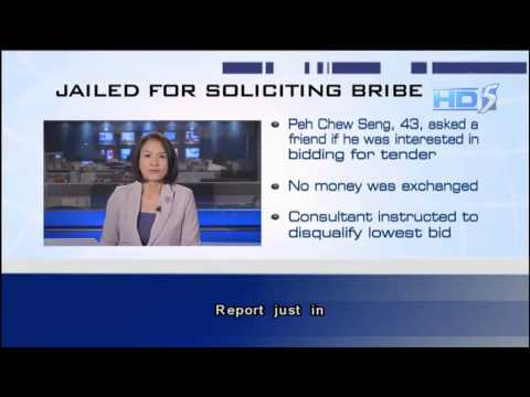 Ex-TTSH Deputy Director Sentenced To Jail For Soliciting Bribe - 12Sep2013