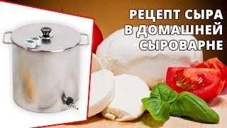 Домашний сыр из молока на сыроварне Fansel Два рецепта