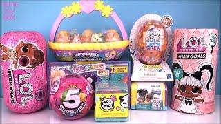 LOL Surprise Hairgoals Under Wraps Hairdorables 5 Moj MOJ Toys Unboxing DOLLS PETS