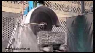 Распил гранитного блока.(Компания КитайКамень предлагает Барельефы из мрамора и гранит из Китая, контроль качества изделий на фабри..., 2013-08-06T14:24:55.000Z)