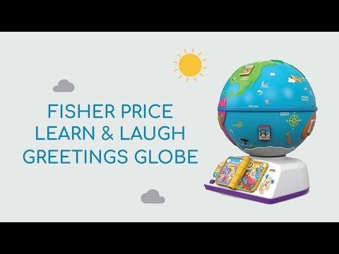 Fisher Price L&L Greetings Globe