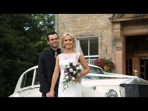 Solsgirth House wedding video - Emma & Barry