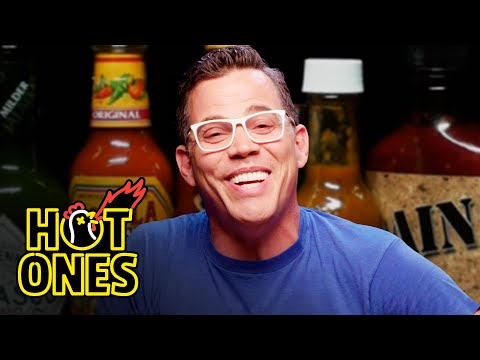 Steve-O Takes It Too Far While Eating Spicy Wings | Hot Ones