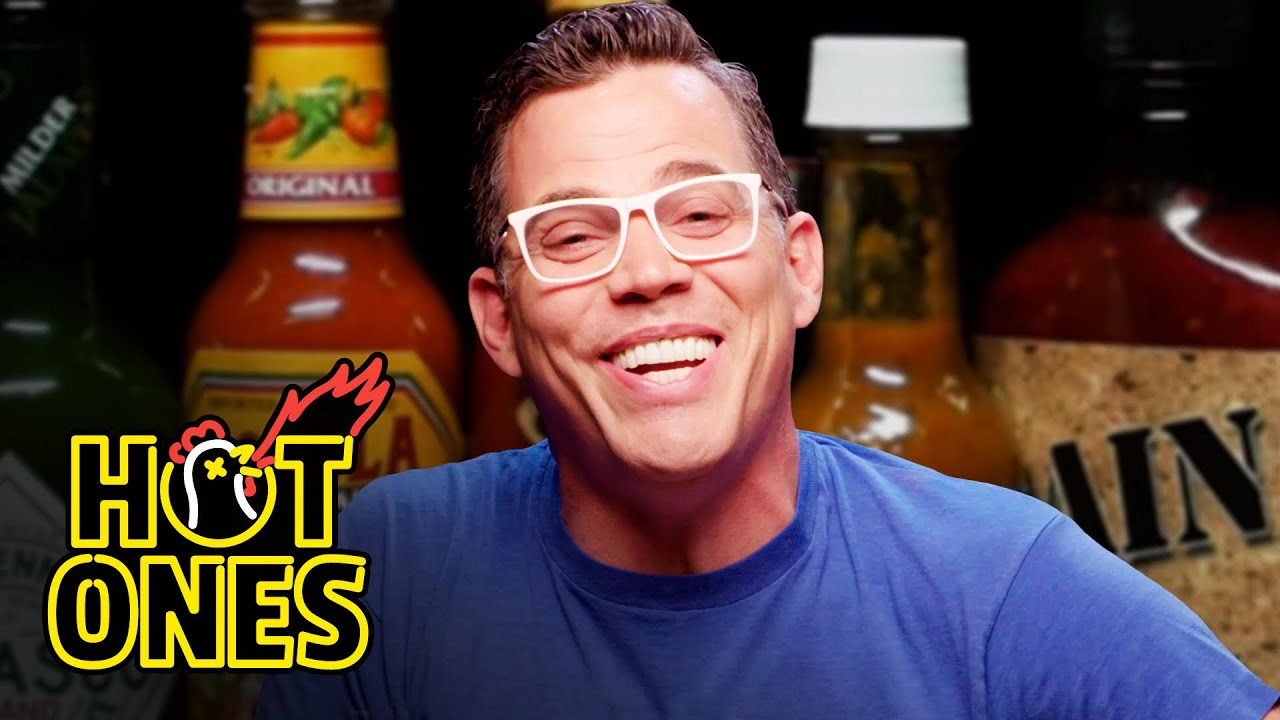 Download Steve-O Takes It Too Far While Eating Spicy Wings | Hot Ones