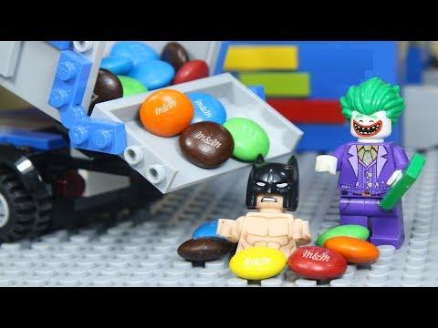 LEGO Superhero Building M&M Vending Machine [Brick Creation 🔴 61]
