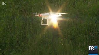 Laserkanone schießt Drohne ab   BR24