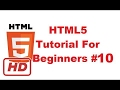 [HTML5 tutorial] HTML5 Tutorial For Beginners 10 # HTML Lists (Ordered Lists, Unordered Lists, Defi