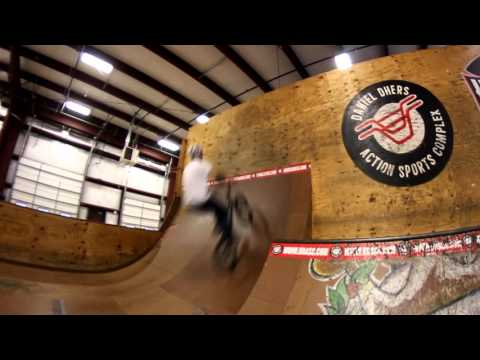 Learning Backflips at Daniel Dhers Action Sports Complex
