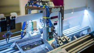 Meet Kniterate, a CNC Knitting Machine!