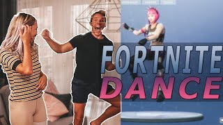 FORTNITE DANCE CHALLENGE | ANNA & KRISTIAN