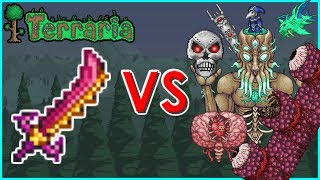 Terraria - Star Wrath vs Bosses | Biron