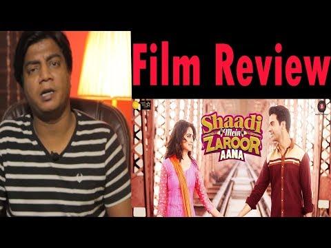 Full movie Review | Shadi mai zaroor aana | Rajkumar Rao | Kriti Kharbanda