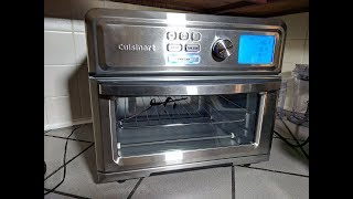 Cuisinart Digital Air Fryer Toaster Oven Review, Test, Unbox (TOA-65)