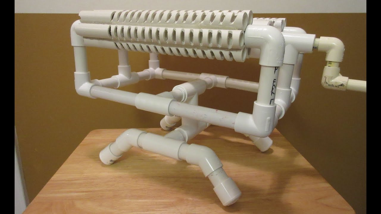Pvc Base For Rubber Band Machine Gun Youtube