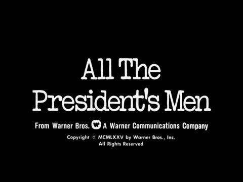 D. K. Smith - June 17, 1972 Watergate break-ins set up for All the President's Men