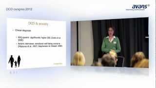 DCD Congres 2012 | Anxiety Profiles in Children with and without Developmental Coordination Disorder