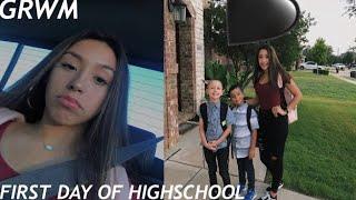 GRWM FIRST DAY OF FRESHMAN YEAR | back to school 2018